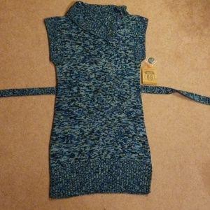 Girls sweater dress xL 14/16